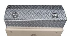 "Aluminum 48.5"" x 15"" Truck Tongue Tool Box for Pickup Trailer RV Storage"