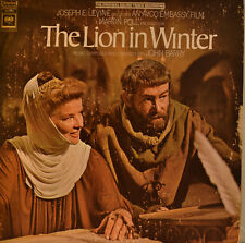 "OST - SOUNDTRACK - THE LION IN WINTER - JOHN BARRY 12"" LP (L958)"