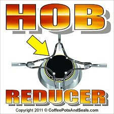Hob Reducer For Small Coffee Makers. Gas Ring for Bialetti Stove Top Pot.