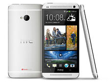 HTC One M7 32GB (T-mobile - Unlocked) 4G LTE with Beat Audio Phone Silver - N/O