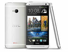 HTC One M7 32GB (Unlocked) 4G LTE with Beat Audio Phone Silver- FRB-