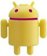 Google HTC Android Reactor Robot Figure Cellphone Strap Droid Toy Yellow