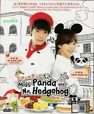 Ms Panda and Mr Hedgehog - Korean Drama (TV series) DVD English Sub_ Lee Donghae