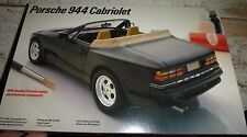 TESTORS PORSCHE 944 CABRIOLET 224 MODEL CAR MOUNTAIN KIT 1/24 OPEN