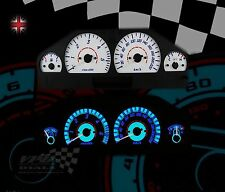 Range Rover P38 km/h white dial speedo dashboard bulb custom lighting kit