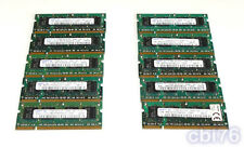 lot 10 mémoire SODIMM 512MO SAMSUNG(10X512MO) DDR2 PC2-4200 533MHZ 200PIN