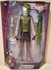 "New 10"" Scale The Dark Knight Batman The Joker Action Figure Toy In Box Mattel"