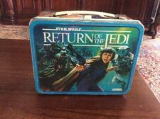 vintage 1983 Star Wars Return of the Jedi Lunchbox no thermos collector case