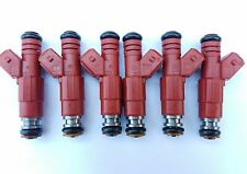 Jeep UPGRADE 87-98! Set of 6 BOSCH FUEL INJECTORS 30LB EV1 4 HOLE 4.0L