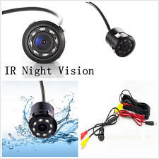 DC12V 8LED IR Night Vision Mini CCD Automobile Reverse Backup Parking Camera Kit