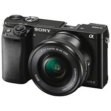 Sony Alpha a6000 24.3MP Mirrorless Digital Camera w/16-50mm Zoom Lens (Black)