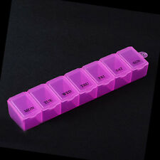 7 Day Pill Medicine Box Holder Storage Organizer Container Pill Cases New
