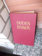 Duden-Lexikon, Band 1: A-F, aus dem Dudenverlag
