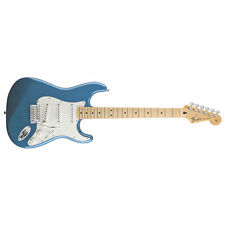 Fender Standard Stratocaster Strat Maple Fretboard Lake Placid Blue DEMO