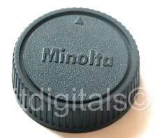 2 x Rear Lens Cap Dust Safety Cover For Minolta MD MC Slr X-700 101 201 202 Srt