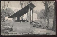 Postcard BLENNERHASSETT WV Island Old Well View 1907
