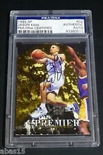 JASON KIDD 1994-95 UD SP DIE CUT ROOKIE CARD AUTO RC SIGNED UPPER DECK PSA DNA
