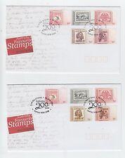 Australia 2009 Australia's Favourite Stamps Set of 2 FDC (Sydney, NSW)