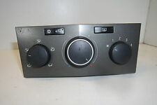 VAUXHALL Astra H, Mk 5, 04-09, Aircon Heater Control Panel GM 13201300  OEM