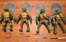 Teenage Mutant Ninja Turtles TMNT Classics Playmates Leonardo Raphael Don Mike