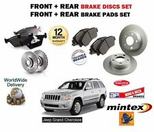 FOR JEEP GRAND CHEROKEE 2005-  FRONT & REAR BRAKE DISCS SET & DISC PADS KIT