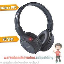 Auricular, Plegable con Tarjetas Sd Ranura MP3 y Radio Sintonizador