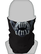 HORROR HALLOWEEN Design COPRICOLLO Necktube NECKWARMER Face Mask Biker paintballing