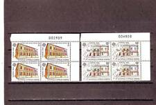 CYPRUS - SG774-775 MNH 1990 EUROPA - POST OFFICE BUILDINGS - BLOCKS OF 4