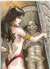 Vampirella 2011 Trading Cards Four Case Incentive Sketch Card by Warren Martinek
