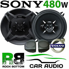 Volvo S40 1996 - 2000 SONY 13cm 480 Watts 3 Way Front Door Car Speaker Kit