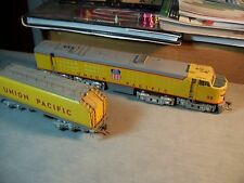 S.SOHO & CO. HO SCALE BRASS UNION PACIFIC #58 GAS TURBINE  LOCOMOTIVE w/ TENDER