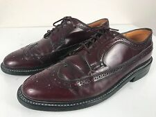 Dexter Vintage Shell Cordovan Longwing Brogue Wingtip Oxford Shoes Sz 10 E