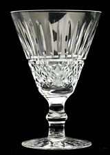 2 Waterford Crystal TRAMORE Claret Wine Glasses Ireland Excellent 5 1/4""