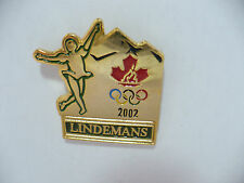 2002 Lindemans Olympics Figure Skating Canada PIN  Very Rare