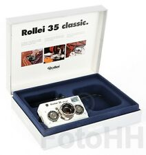 """ROLLEI 35 """"WHITE MAGIC SILVER"""" WITH SILVER APPLICATONS SERIALNUMBER PROTOTYP"""