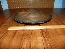 Vintage HOMAN MFG. COMPANY Silverplate Raised Platter                          +