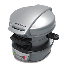 Hamilton Beach Breakfast Sandwich Maker Kitchen Counter Top Press | 25475A
