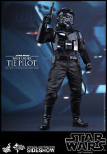 "HOT TOYS Star Wars VI Force Awakens FIRST ORDER TIE PILOT 12"" 1/6 Scale Figure"