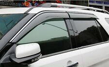 4pcs Window Visor Deflector Rain Guards  For Ford Explorer 2013 2014 2015