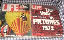 Lot 2 Life Magazines,December 29,1972 The Year in Pictures,October 1978,Pope,Wiz