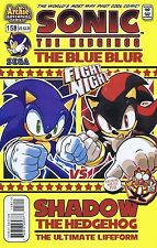 SONIC THE HEDGEHOG #158 - MINT - March 2006 - SHADOW - Signed by Ken Penders