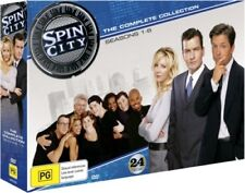 Spin City the Complete Series Collection Limited Edition [Region 4] - DVD - New