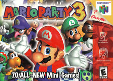 Mario Party 3 (Nintendo 64, 2001) Game Cartridge