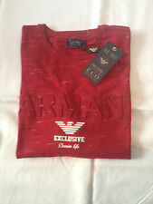 New Armani Jeans shirt MEN'S Red color size-XL BNWT SALE!!!
