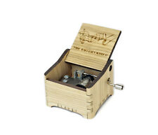 The Entertainer - Scott Joplin / Personalized Hand Crank Music Box