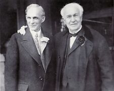 HENRY FORD THOMAS EDISON 8X10 GLOSSY PHOTO PICTURE