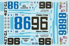 #96 / 98 Richard Childress L.C. Newton Chevy 1973 1/24th - 1/25th Scale Decals