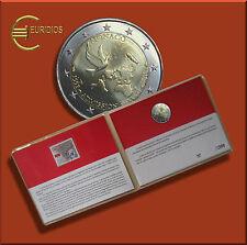 2 Euro Coin Card 2013 UNO Gedenkmünze Stempelglanz mit Briefmarke