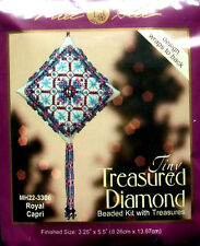 Mill Hill Cross Stitch Bead Kit Christmas Diamond 'Royal Capri' 22-3306