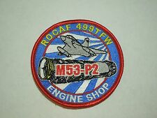 ROCAF 499TFW M53-P2 Engine Shop Military Aircraft Embroidered Sew On Patch